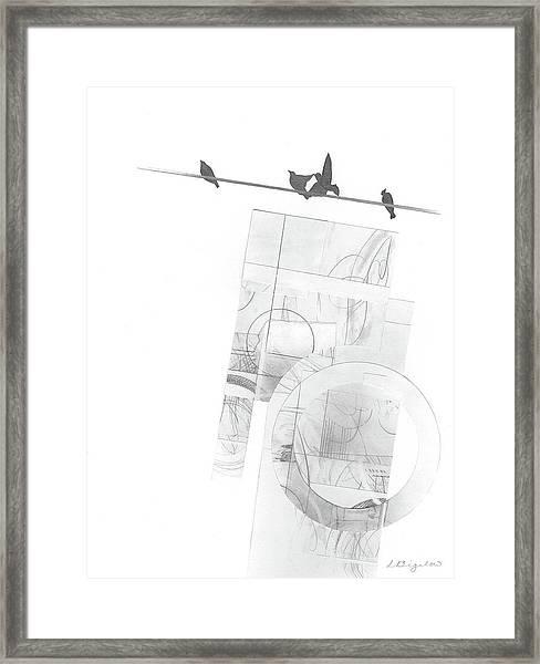 Orbit No. 3 Framed Print