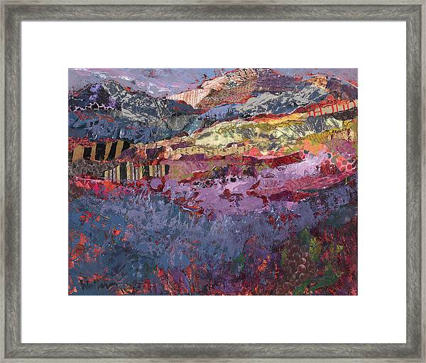 Framed Print featuring the painting Oregon Buzz Buzz by Shelli Walters