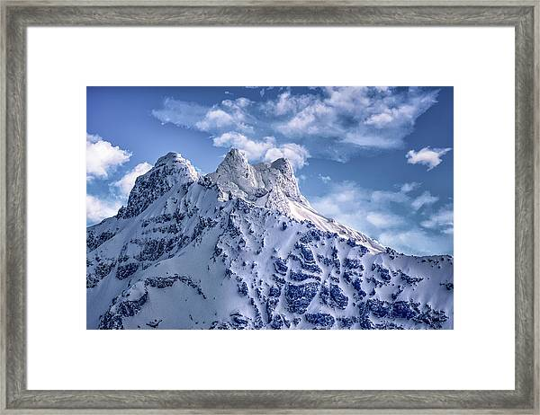Oregon Casades Framed Print