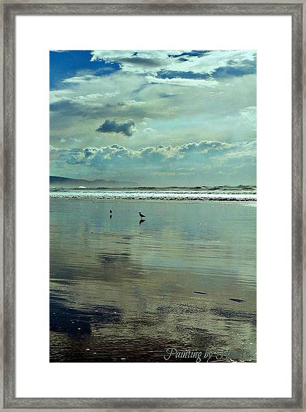 Oregon Coast 6 Framed Print