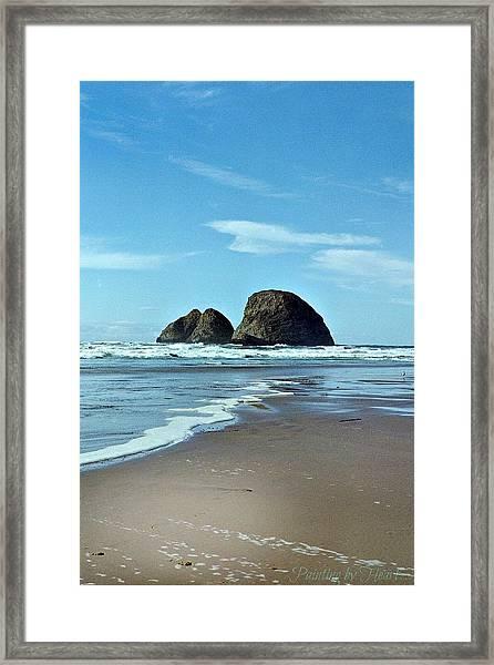 Oregon Coast 8 Framed Print