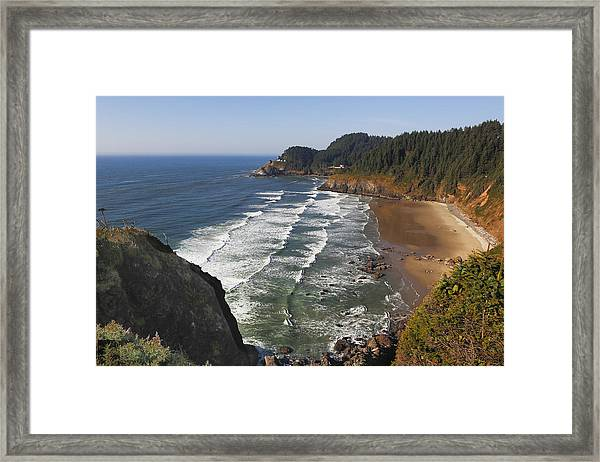 Oregon Coast No 1 Framed Print
