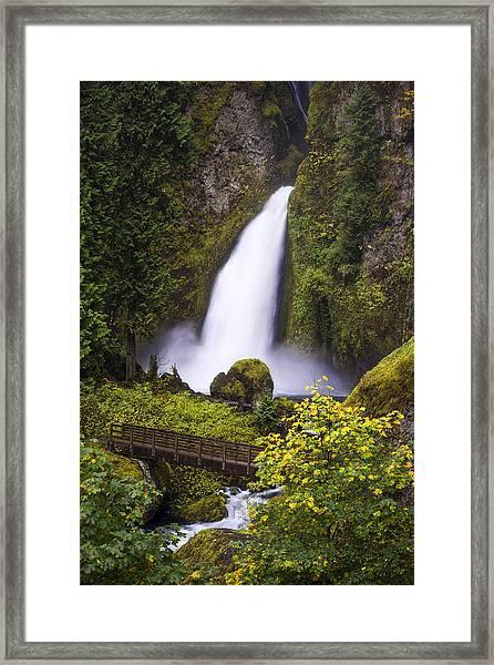 Oregon Trail Framed Print