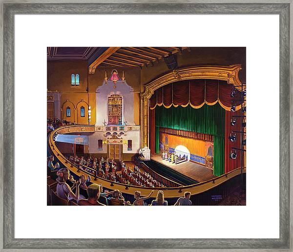 Organ Club - Jefferson Framed Print