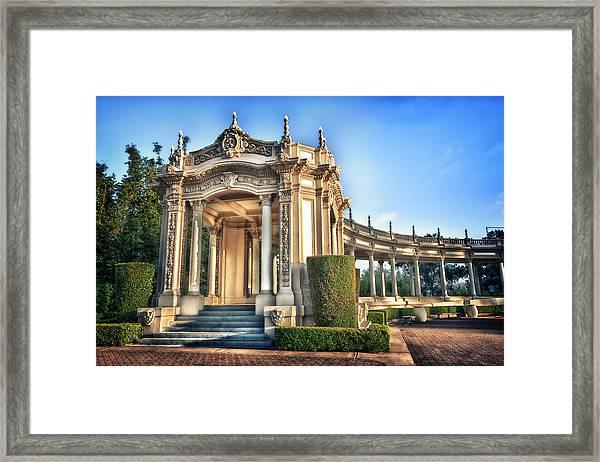 Organ Pavillion At Balboa Park Framed Print