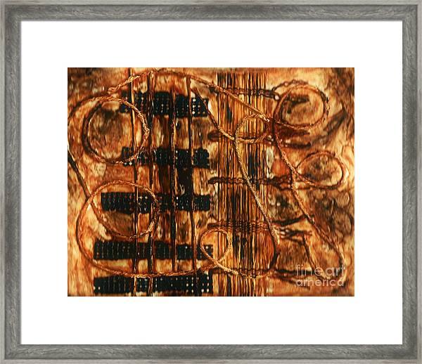Organic - Landscape  Framed Print