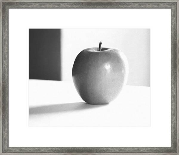 Organic...apple...infrared Framed Print