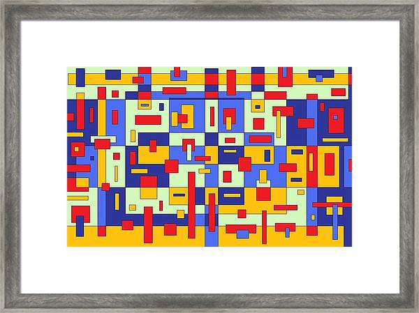 Organize Framed Print
