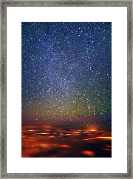 Orion Rising Framed Print