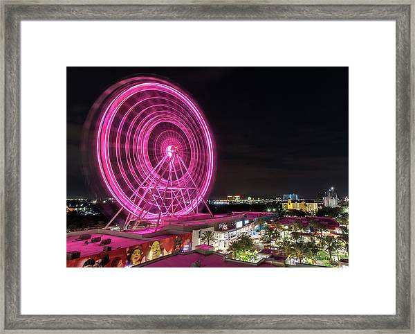 Orlando Eye Framed Print