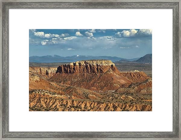 Orphan Mesa Framed Print