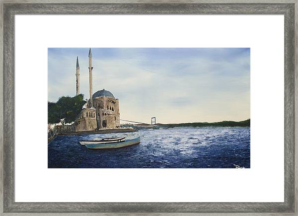 Ortakoy Mosque Framed Print