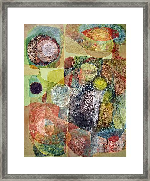 Os1961dc002bo Abstract Landscape Potosi 17x22.25 Framed Print by Alfredo Da Silva