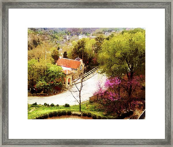 Osark Mountain Easter Framed Print