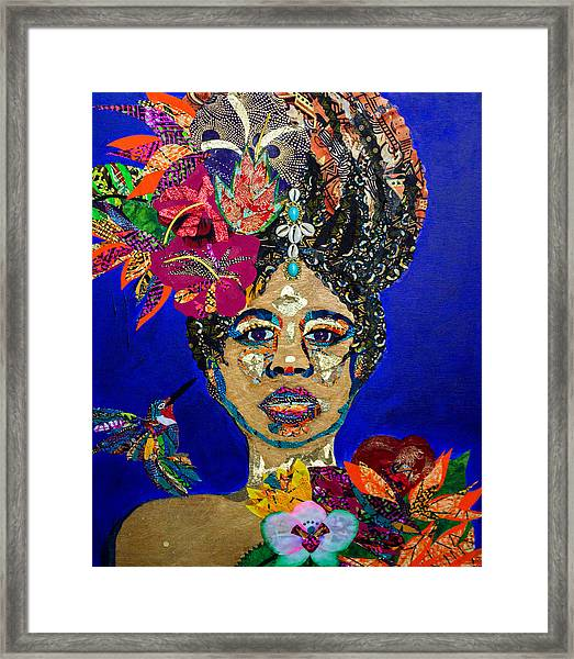 Oshun Blooming Framed Print