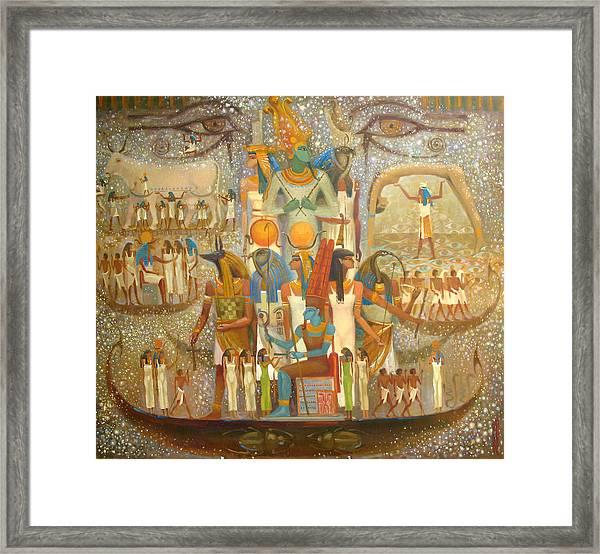 Osiris Framed Print