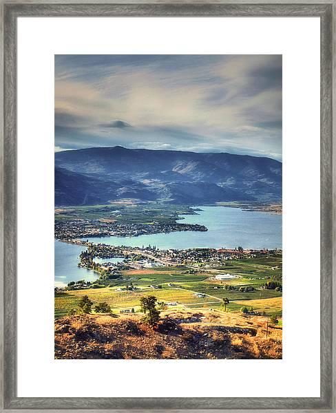 Osoyoos Lake 2 Framed Print