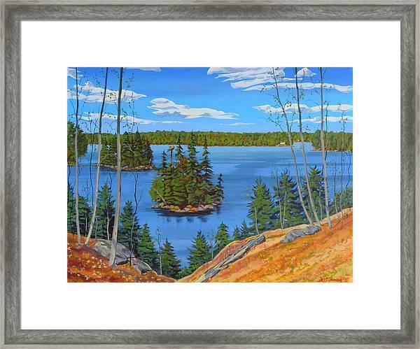 Osprey Island Framed Print