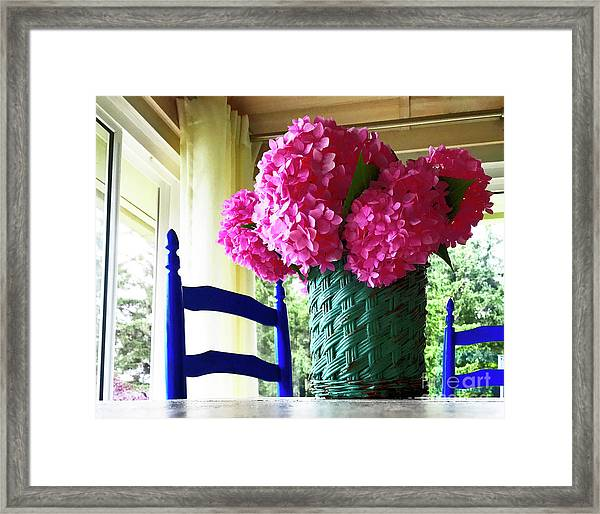 Otisco Morning Framed Print