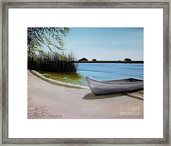 Our Beach Framed Print