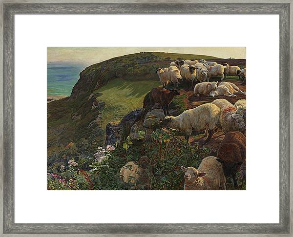 Our English Coasts Framed Print