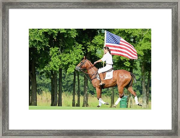 Our Flag Framed Print