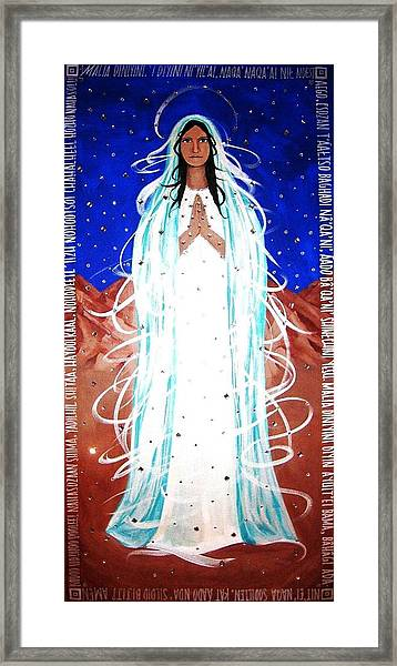 Our Lady Of Lucid Dreams Framed Print