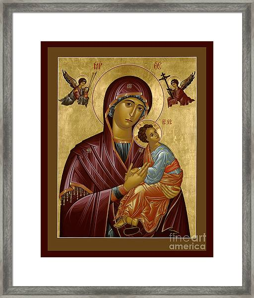 Our Lady Of Perpetual Help - Rloph Framed Print