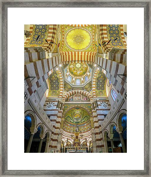 Our Lady Of The Guard Framed Print