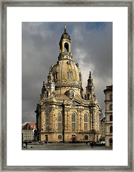 Our Lady's Church Of Dresden Framed Print