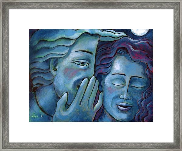 Our Secret Painting 49 Framed Print