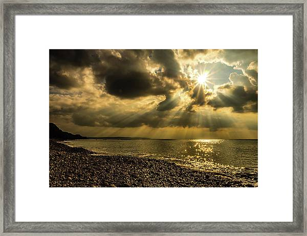 Framed Print featuring the photograph Our Star by Nick Bywater