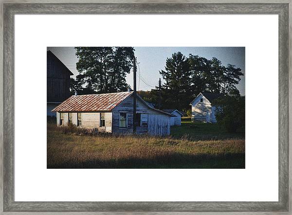 Out Building Framed Print