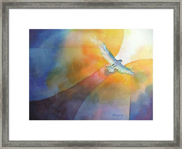 Out Framed Print