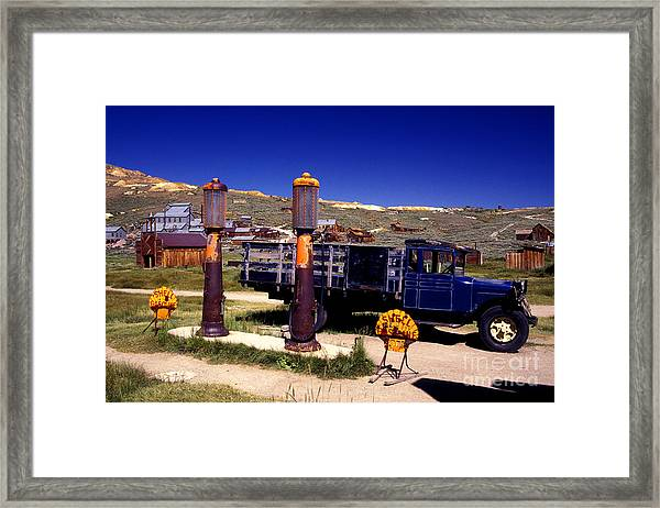 Out Of Gas Framed Print