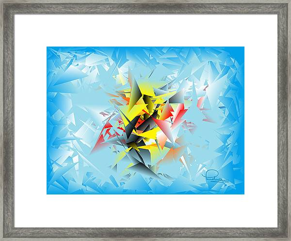 Out Of The Blue 5 Framed Print