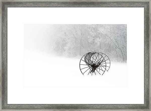 Out Of The Mist A Forgotten Era 2014 II Framed Print