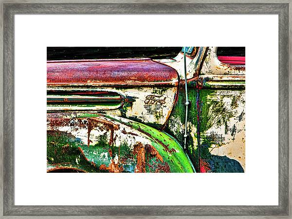 Out Of Warrantee Framed Print