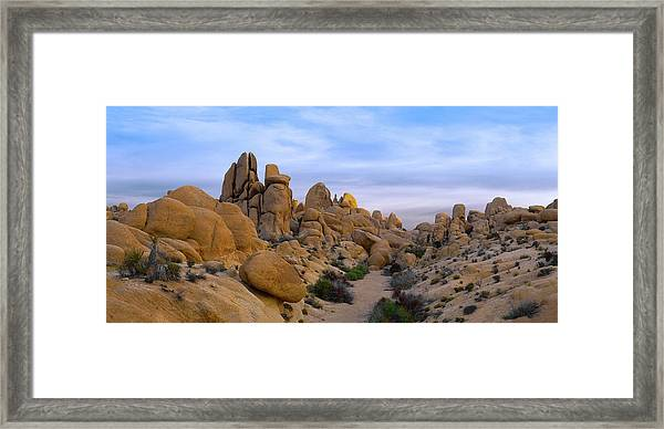Outer Limits Pano View Framed Print