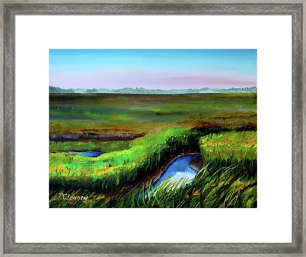 Outgoing Tide Framed Print