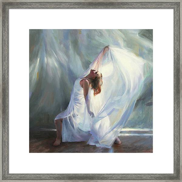 Outpouring Framed Print