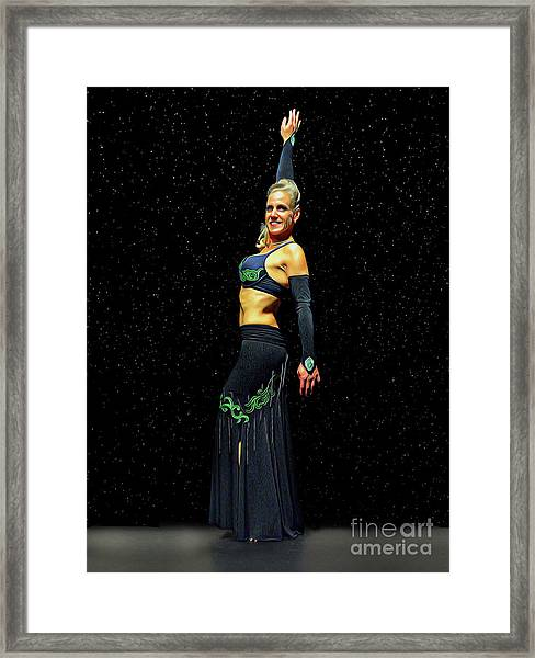 Outstanding Performance Framed Print