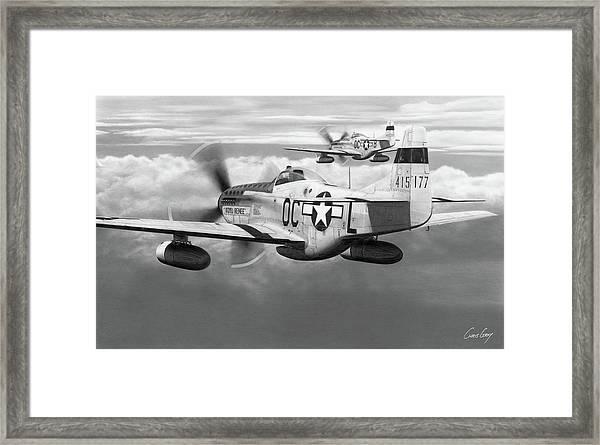 Outward Bound Framed Print by Chris Gray