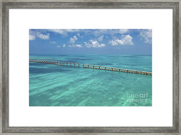 Overseas Highway Framed Print