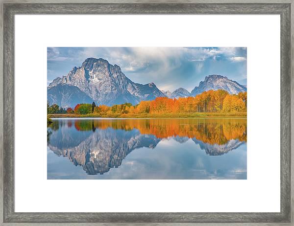 Oxbow's Autumn Framed Print