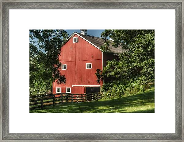 0035 - Oxford's Big Red I Framed Print
