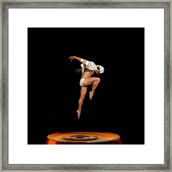 Framed Print featuring the photograph Oxygen by Michael Taggart