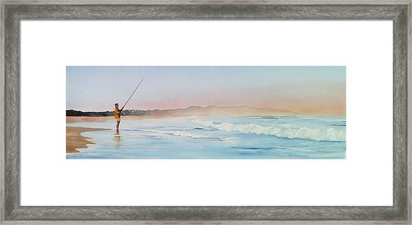 Oyster Bay Morning Framed Print