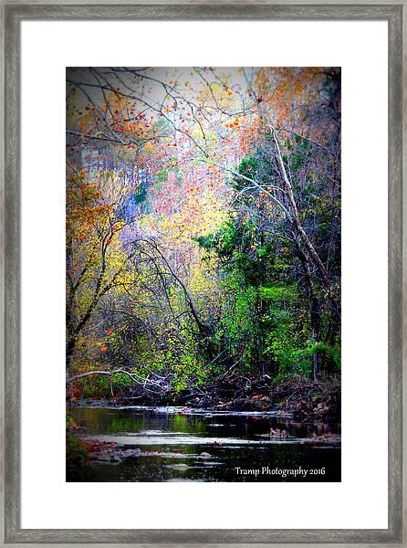 Ozarks Fall Framed Print