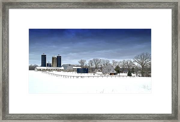 Pa Farm Framed Print